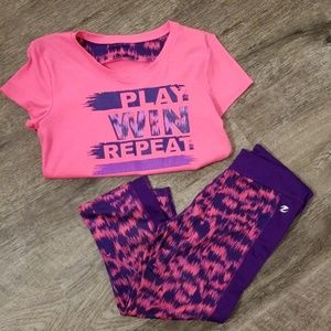 Energy Zone girl work out set